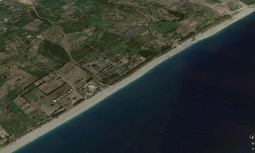 fiumefreddo di sicilia marina di cottone intera costa