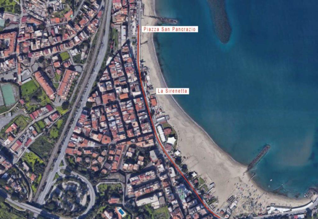 giardini-naxos lungomare tra porto e san pancrazio