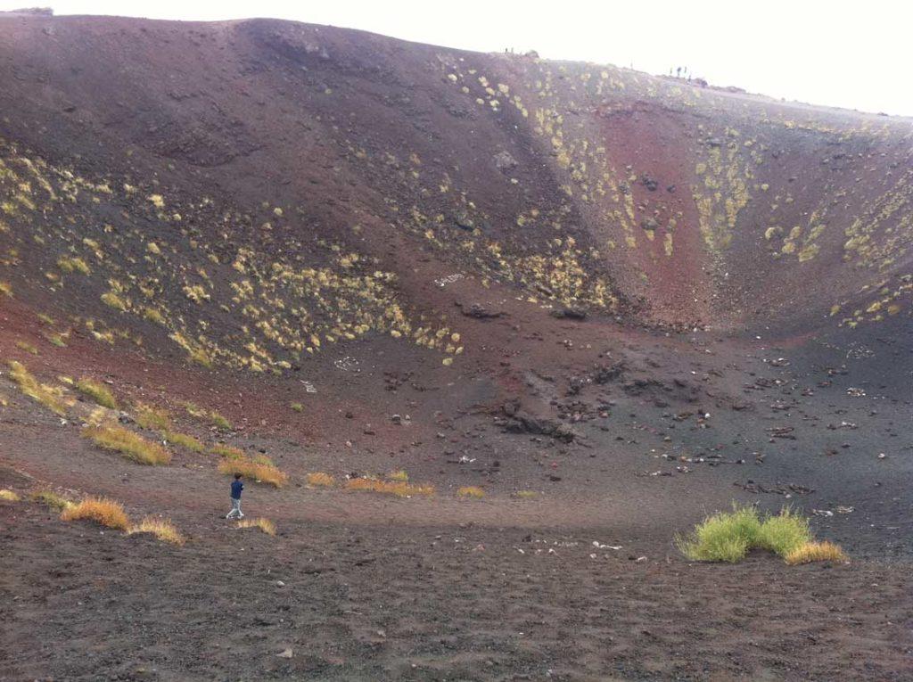 etna cratere san silvestri foto taobook