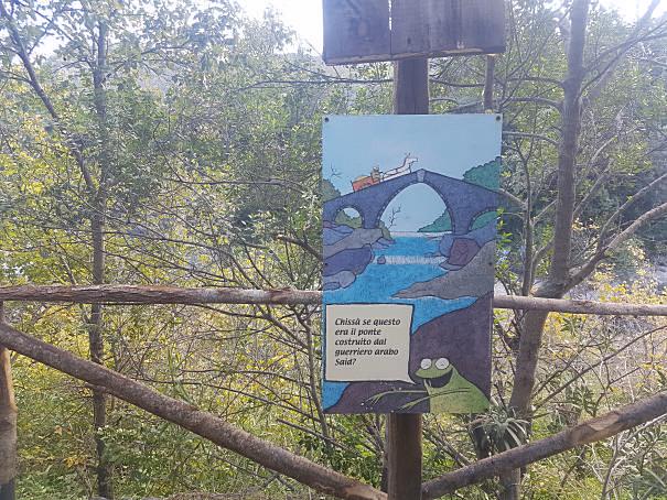 gurne dell'alcantara cartello informativo foto taobook