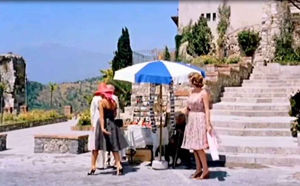 taormina set di intrigo all'italiana