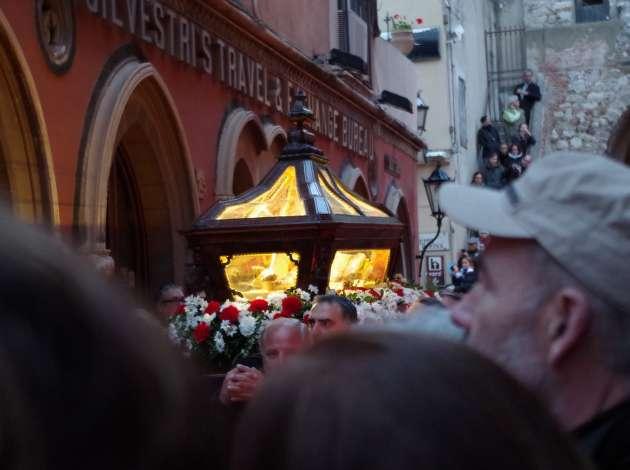 taormina via crucis bara del cristo