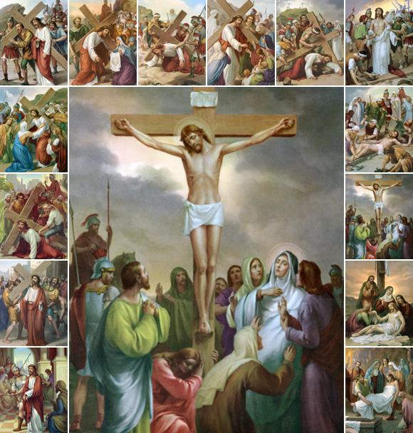 taormina via crucis rappresentazione iconografica