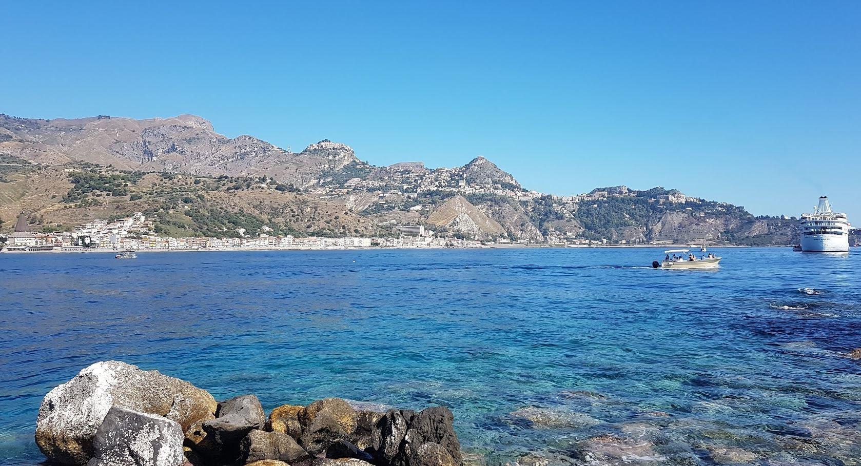 Taormina from Giardini-Naxos