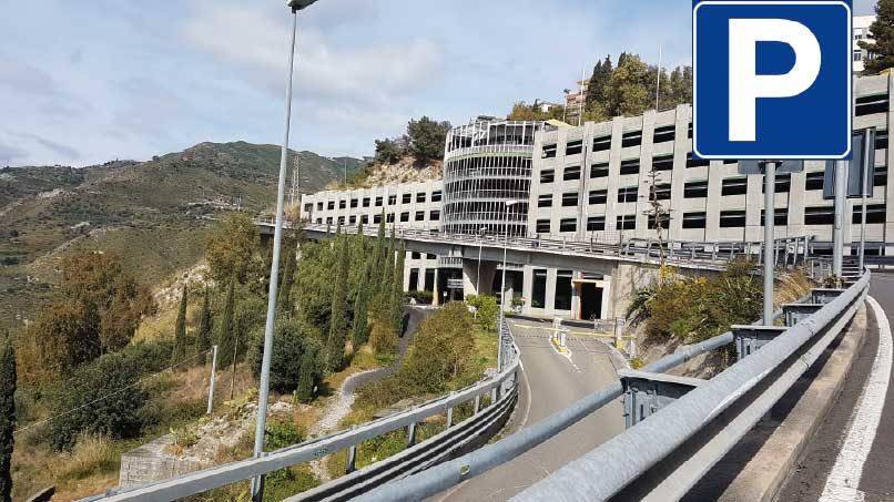 Taormina parcheggio porta catania