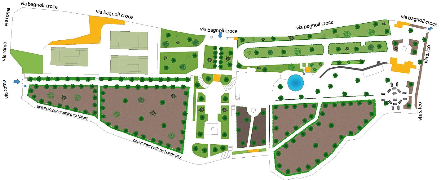 taormina villa comunale cartina turistica