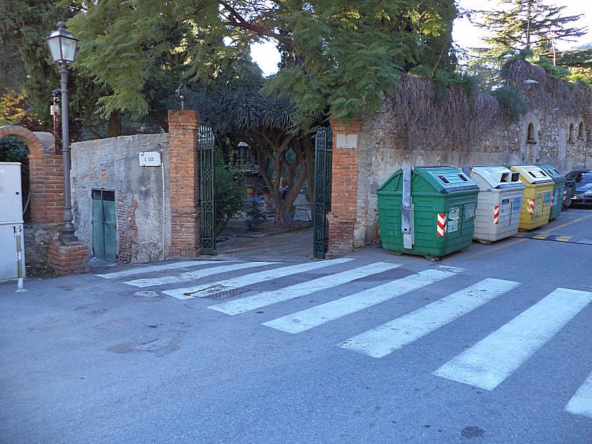 taormina villa comunale ingresso vicino jolly hotel