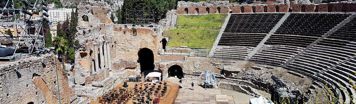 Teatro antico Greco Romano di Taormina
