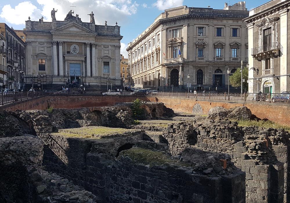 Catania area archeologiaca