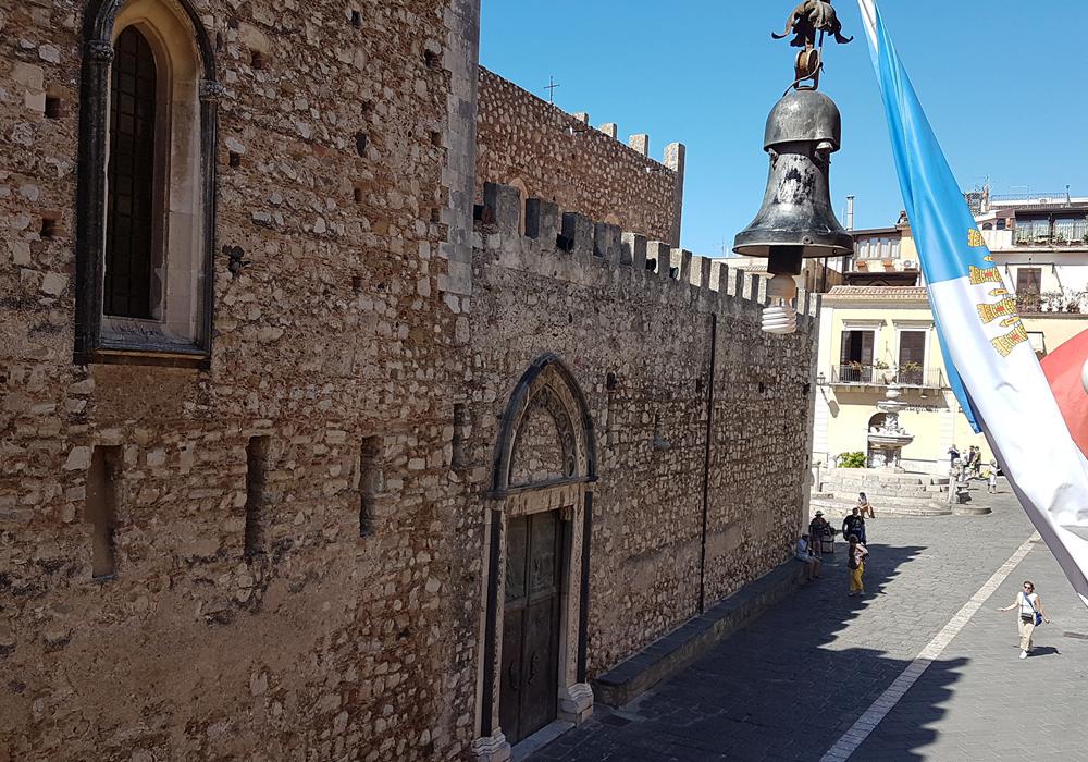 Taormina immagine dal municipio