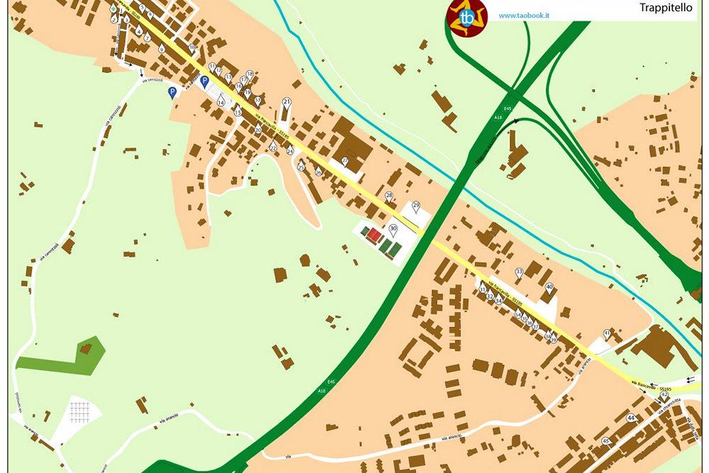 mappa trappitello cartacea A4