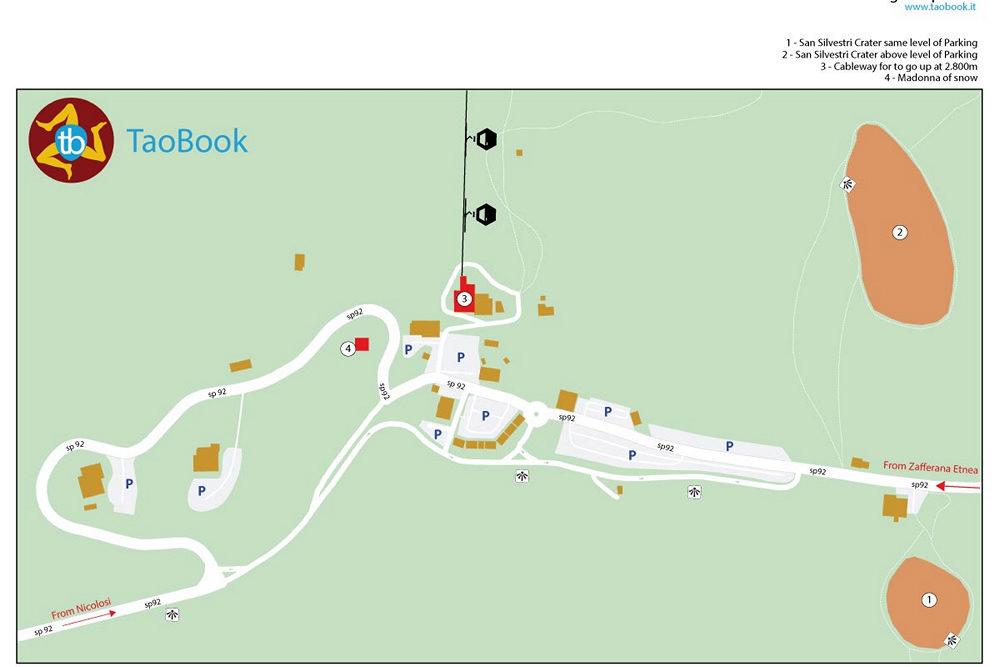 mappa rifugio sapienza a4 cartacea