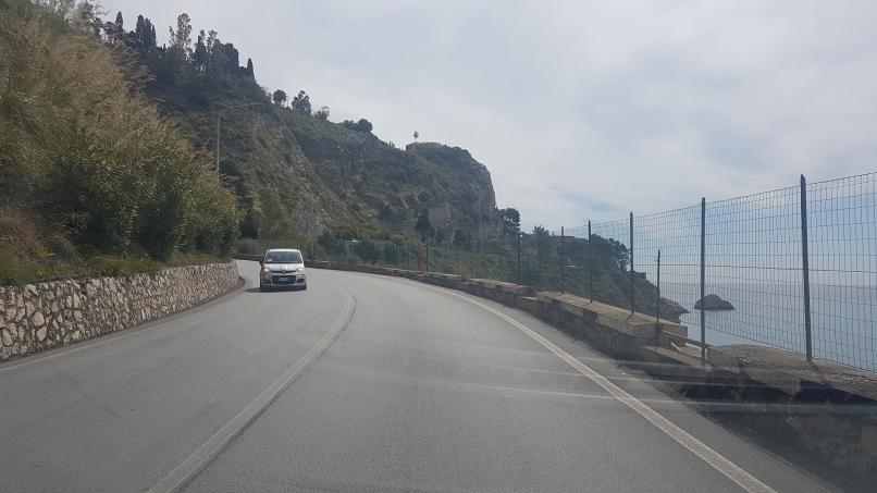 percorso da stazione taormina-giardini naxos a taormina villa comunale foto 2