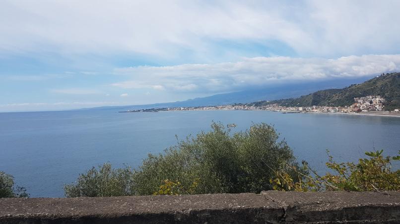 percorso da stazione taormina-giardini naxos a taormina villa comunale foto 4