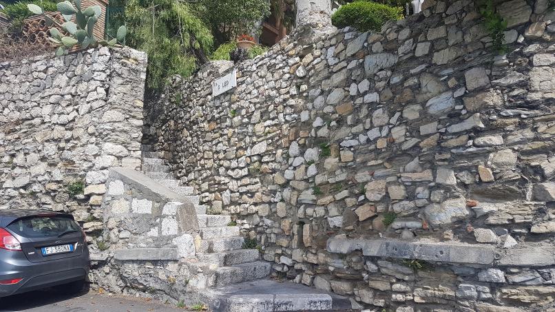 percorso da stazione taormina-giardini naxos a taormina villa comunale foto 7