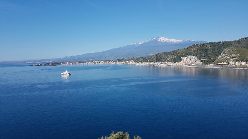 percorso da stazione taormina-giardini naxos a taormina villa comunale foto 10