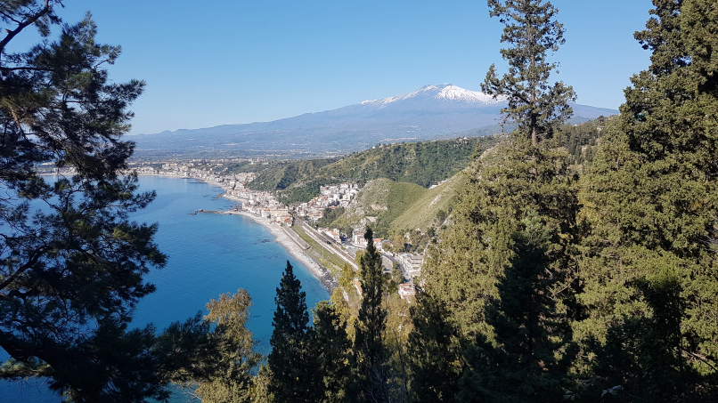 percorso da stazione taormina-giardini naxos a taormina villa comunale foto 13