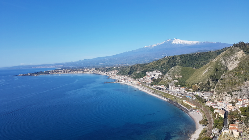percorso da stazione taormina-giardini naxos a taormina villa comunale foto 12