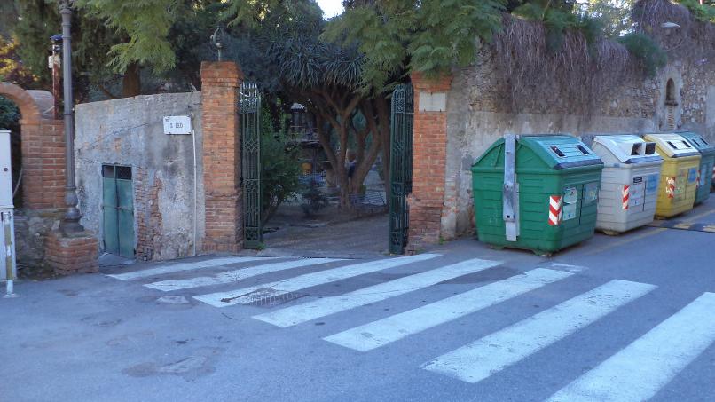 percorso da stazione taormina-giardini naxos a taormina villa comunale foto 14