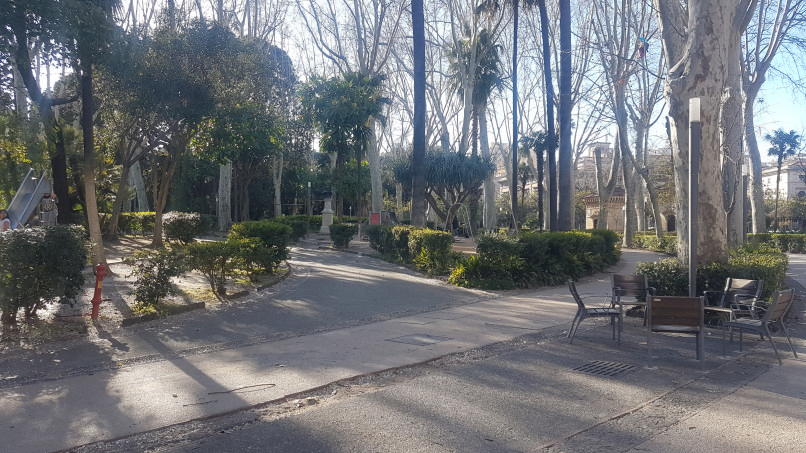 catania villa bellini area giochi per bambini