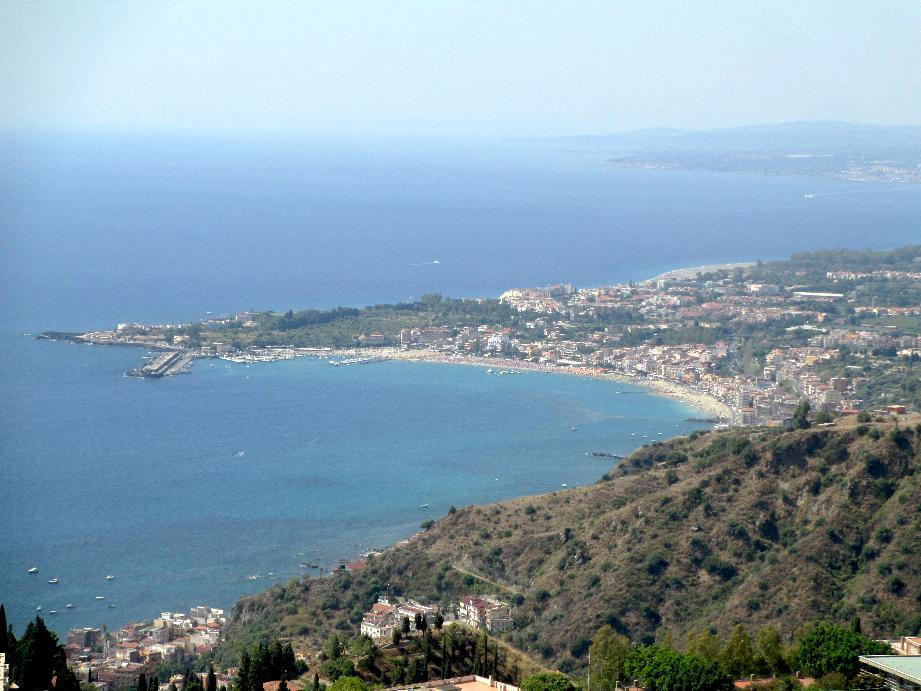 spiagge di giardini naxos