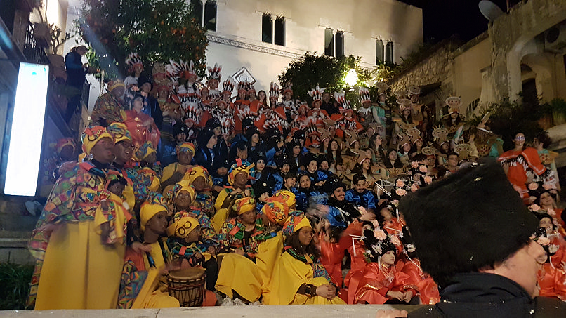 taormina carnevale 2019 gruppi in maschera
